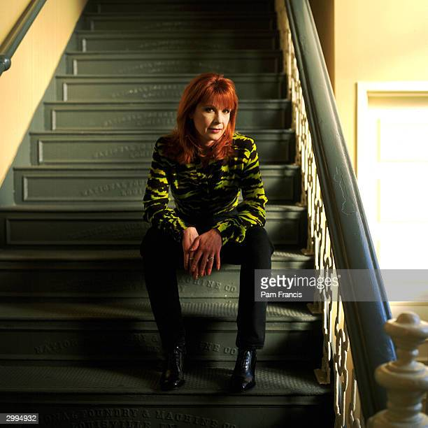 Country Singer Patty Loveless photographed on May 20 1997 in Nashville Tennessee