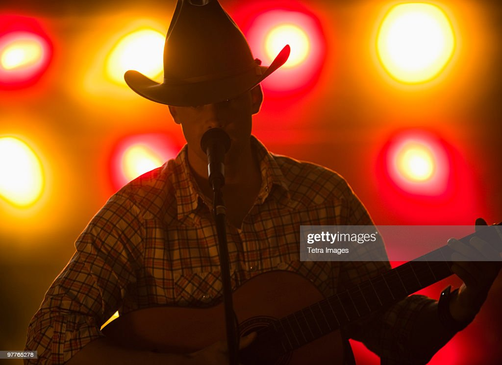 Country singer : Stock Photo
