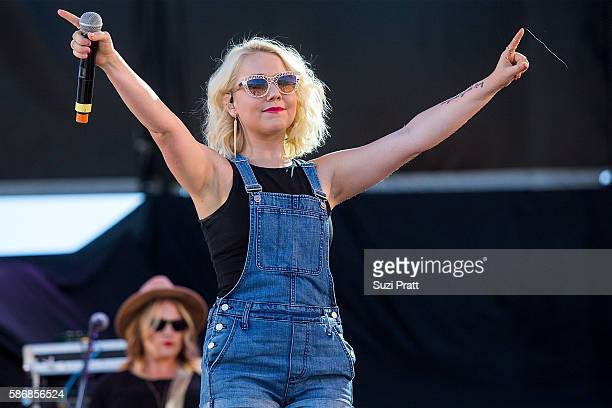 Country singer Raelynn performs at the second weekend of at the Watershed Music Festival Gorge Amphitheatre on August 5 2016 in George Washington