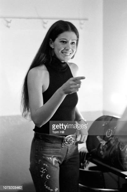 Country singer Rita Coolidge waits backstage at the sound check before performing with Kris Kristofferson and Friends at the Municipal Auditorium on...