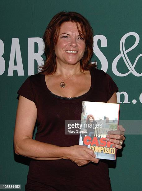 Country Singer Rosanne Cash promotes 'Composed' at Barnes Noble Union Square on August 10 2010 in New York City