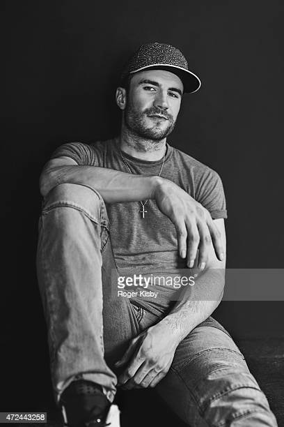 Country singer Sam Hunt poses for a portrait backstage at The FADER FORT Presented by Converse during SXSW on March 18 2015 in Austin Texas
