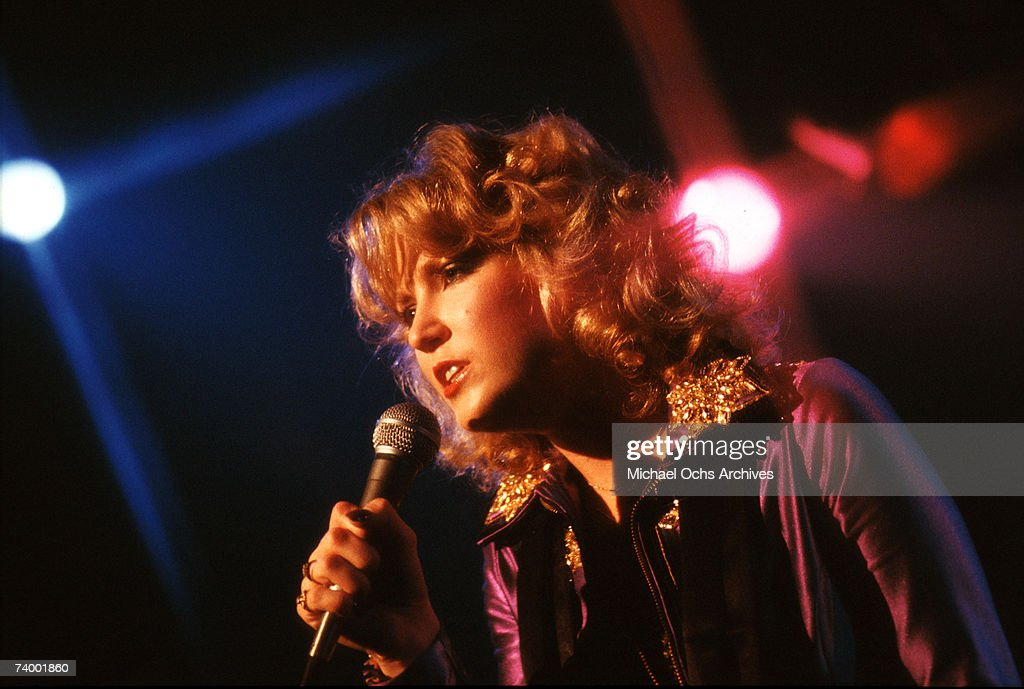 Country singer Tanya Tucker performs live circa 1978 in Los Angeles, California.
