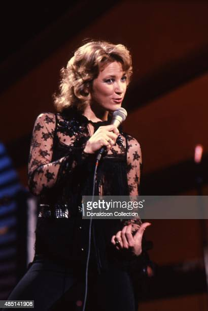Country singer Tanya Tucker performs onstage in circa 1984 in Los Angeles California