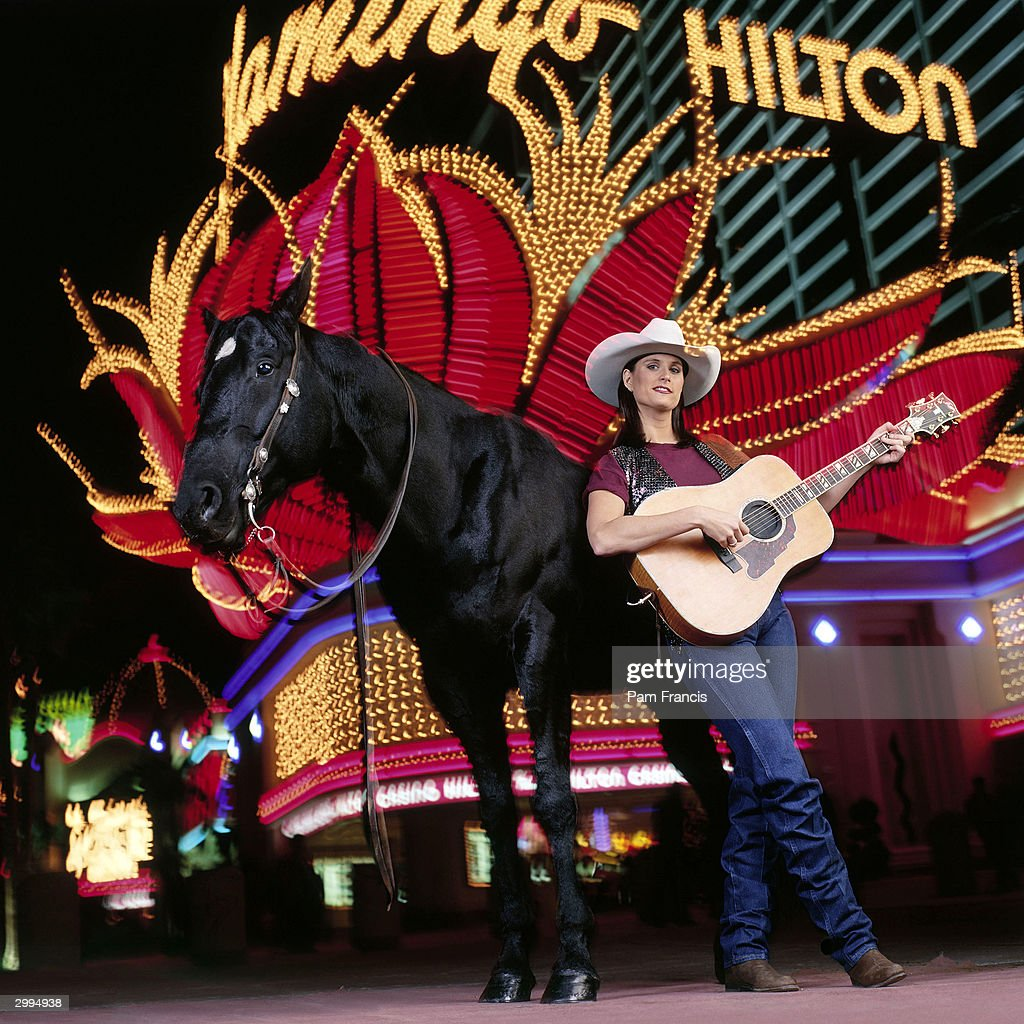 Country singer Terri Clark photographed on April 26, 1996 in Las Vegas, Nevada.