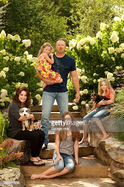 Country singer Trace Adkins is photographed for People Magazine on May 1 2011 in Nashville Tennessee PUBLISHED IMAGE