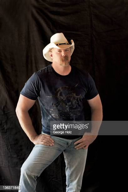 Country singer Trace Adkins is photographed for People Magazine on May 1 2011 in Nashville Tennessee