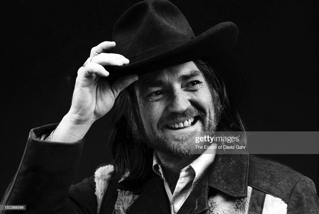 Country singer Willie Nelson poses for a portrait in the studios of Atlantic Records in February, 1973 in New York City, New York.