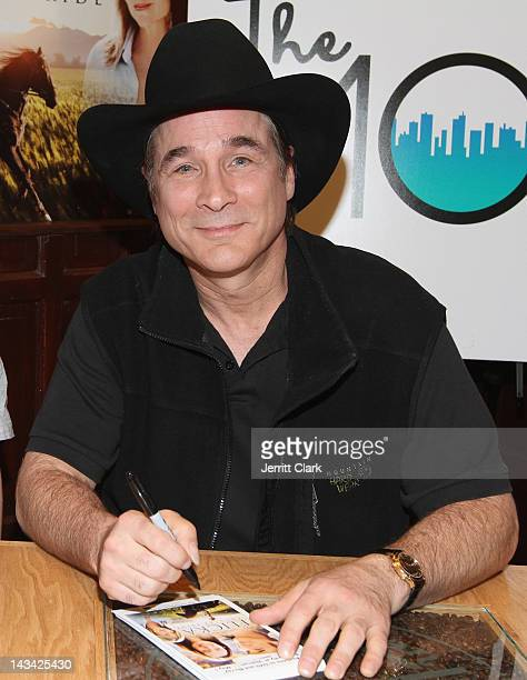 Country Singer/Actor Clint Black appears at the 83rd Street Coffee Bean Tea Leaf on April 25 2012 in New York City