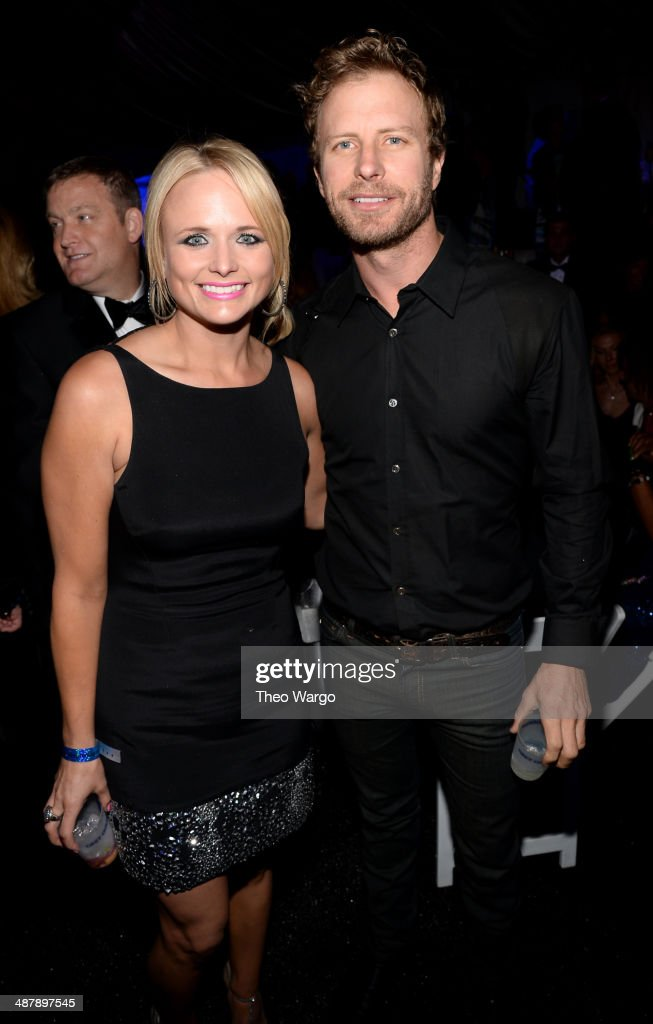 Country singers Miranda Lambert and Dierks Bentley attend the Barnstable Brown Gala hosted by GREY GOOSE at Barnstable Brown House on May 2, 2014 in Louisville, Kentucky.