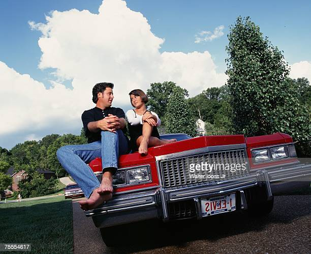 Country singers Vince Gill and wife Janis Gill poses for a photo in 1984 in Nashville Tennessee