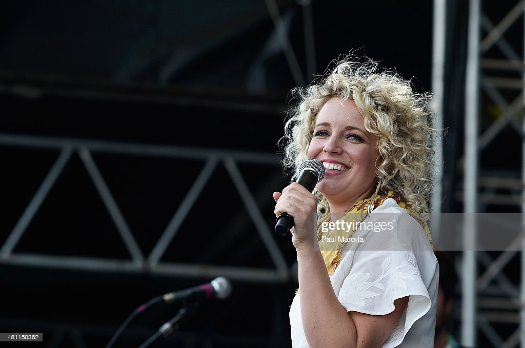 Country singer-songwriter Cam performs on day 4 of the Outside the Box Festival Boston at Boston Common on July 17, 2015 in Boston, Massachusetts.