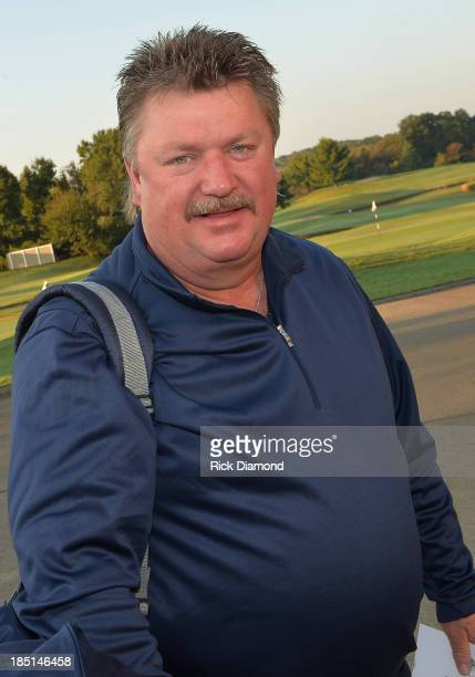 Country Singer/Songwriter Joe Diffie attends the T.J. Martell Foundation 2013 Wirtgen America Charity Gold Classic at the Hermitage Golf Course on...