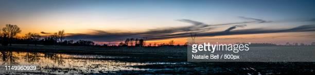country sky - コロラド州 ニューキャッスル ストックフォトと画像