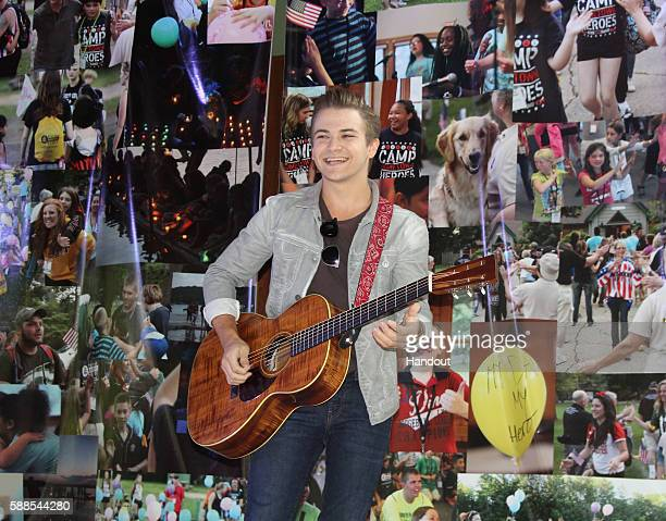 Country star Hunter Hayes makes a surprise visit to Camp Hometown Heroes a free Wisconsin summer camp for children of fallen US service members on...
