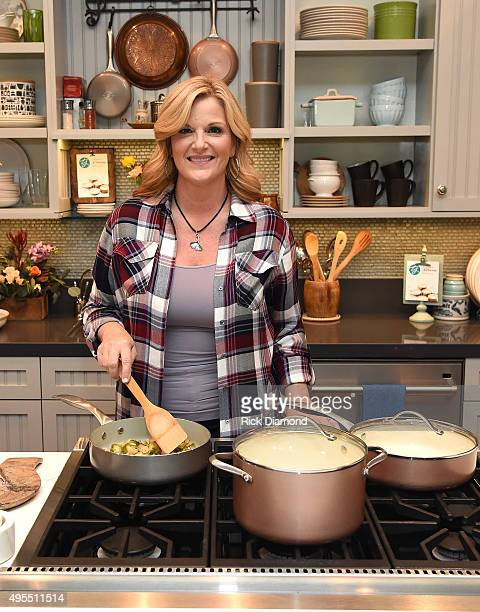 Country Star Trisha Yearwood Partners With JCPenney To Honor Breast Cancer Survivors on November 3 2015 in Nashville Tennessee