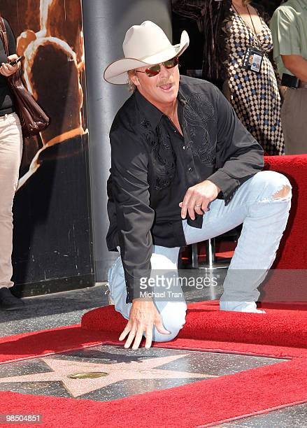 Country superstar Alan Jackson attends the Hollywood Walk Of Fame star ceremony honoring him held on April 16 2010 in Hollywood California