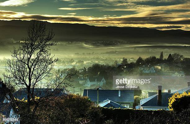 country valley - launceston australia stock pictures, royalty-free photos & images
