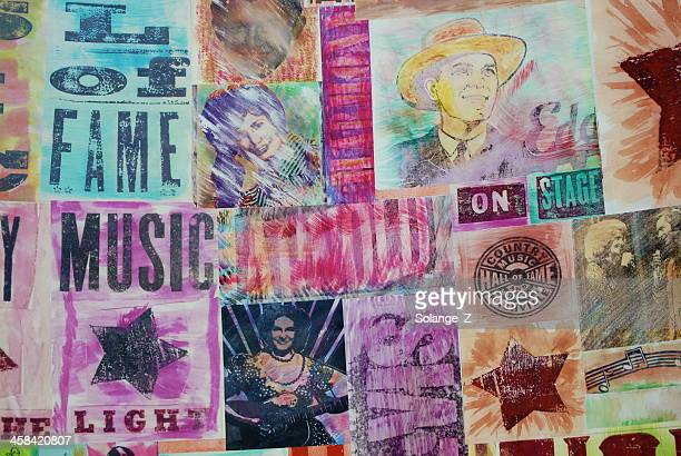 country wall - country and western music stock pictures, royalty-free photos & images