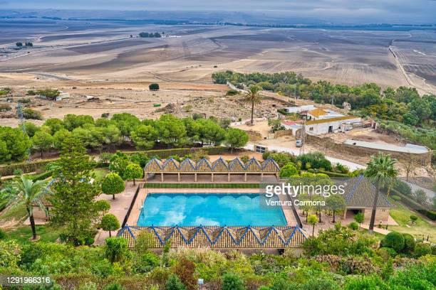 countryside around carmona - andalusia, spain - carmona fotografías e imágenes de stock