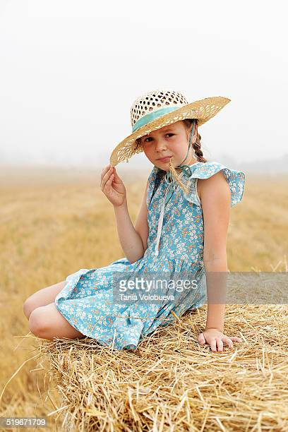 Countryside baby girl