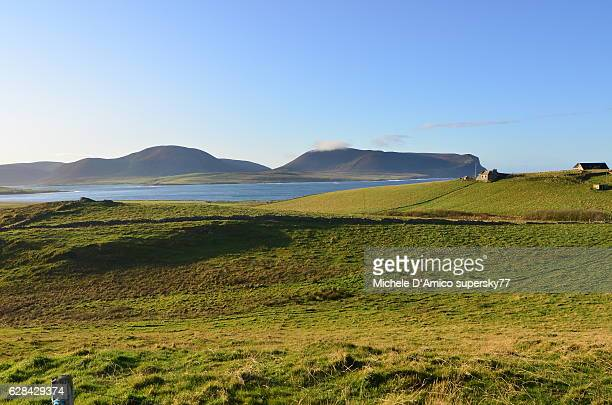Countryside in the Orkney Islands