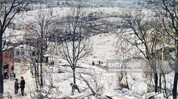 Countryside in Winter' 19191920 Isaak Izrailevich Brodsky was a Soviet painter whose work provided a blueprint for the art movement of socialist...