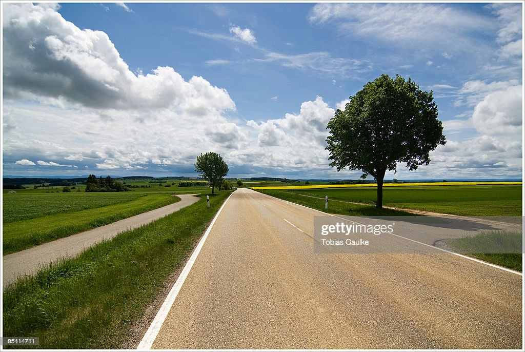 Countryside road : Stock-Foto