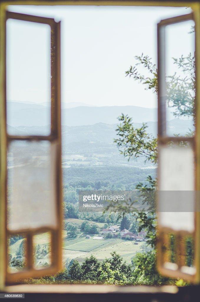 Blick auf die Landschaft : Stock-Foto