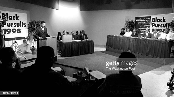G County Community College BRIEF DESCRIPTION Quiz competition on Black History Overview scene at todays quiz show about Black History at Prince...