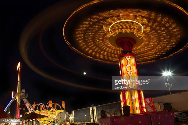 county fair attraction - costa mesa stock photos and pictures