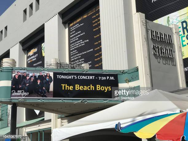 County Fair Beach Boys grandstand marquee in Pomona California on September 20 2018 Photo by Jim Steinfeldt/Michael Ochs Archives/Getty Image