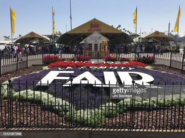 County Fair entrance in Pomona California on September 20 2018 Photo by Jim Steinfeldt/Michael Ochs Archives/Getty Image