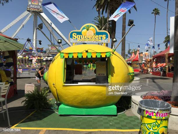 County Fair Squeezers lemonade stand in Pomona California on September 20 2018 Photo by Jim Steinfeldt/Michael Ochs Archives/Getty Image