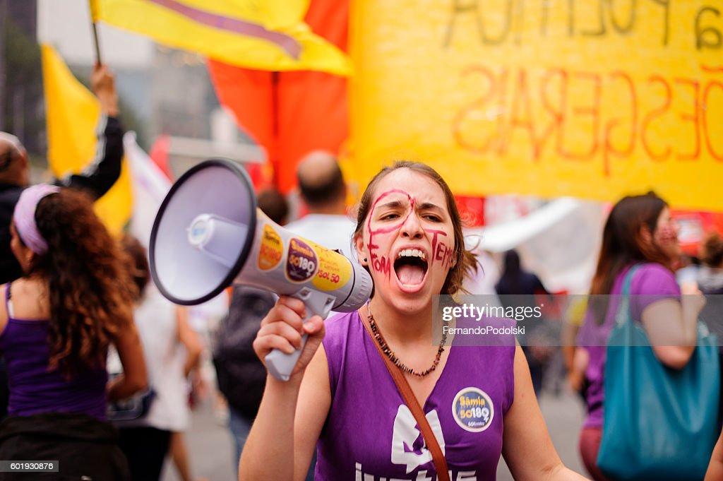 Coup in Brazil : Foto de stock