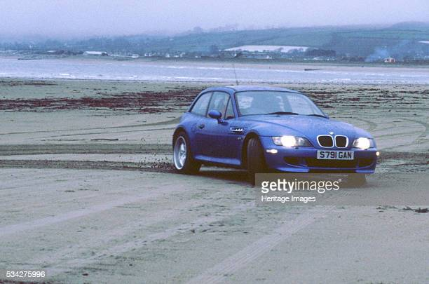 Z3M coupe on pendine sands Wales 2000