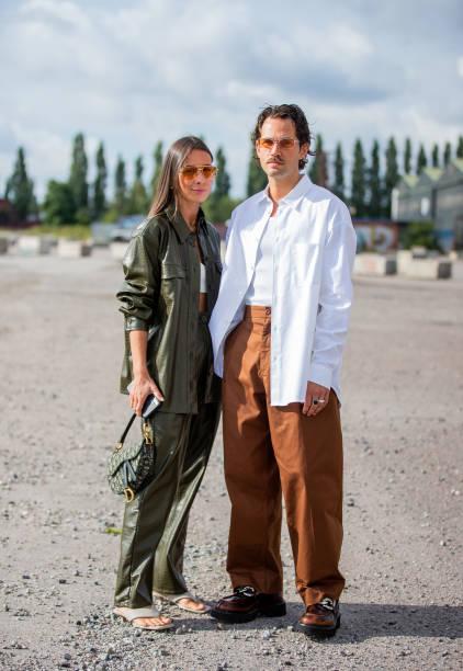 DNK: Street Style - Day 3 - Copenhagen Fashion Week Spring/Summer 2022