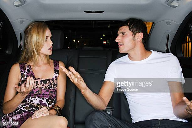 couple arguing in a car - couple arguing stock photos and pictures