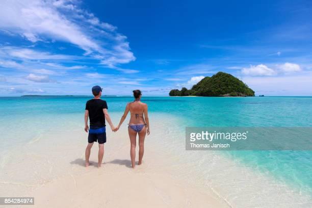 Couple at Long Beach, Palau