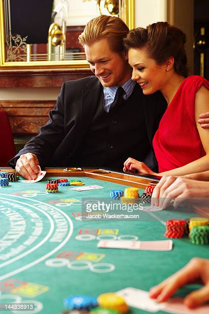 Paar im casino