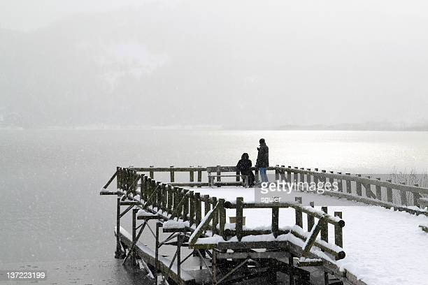 couple at the pier