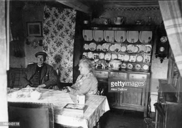 A couple at their home in the Tryweryn Valley near Bala Merionethshire Wales 27th February 1957 In 1957 a private bill was passed by Parliament to...