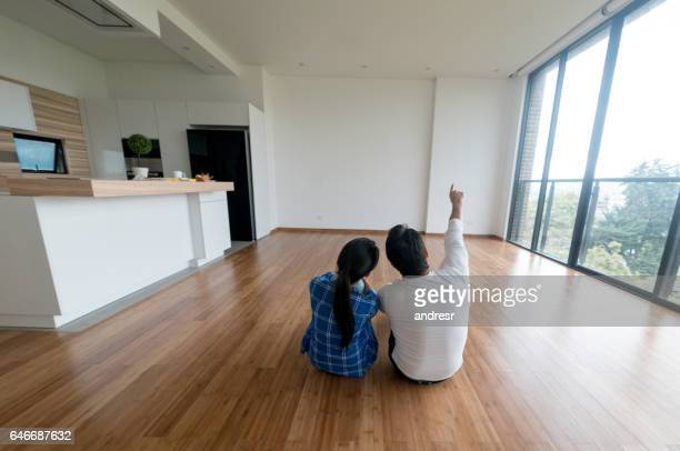 couple at their new home - reform stock pictures, royalty-free photos & images
