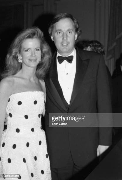 Couple Blaine Trump and Robert Trump attend the PEN American awards dinner at the Pierre Hotel in May 1988 in New York New York