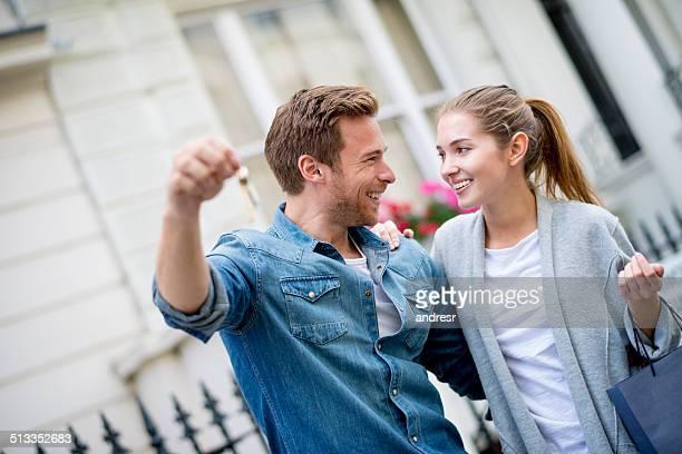 Couple, acheter une maison