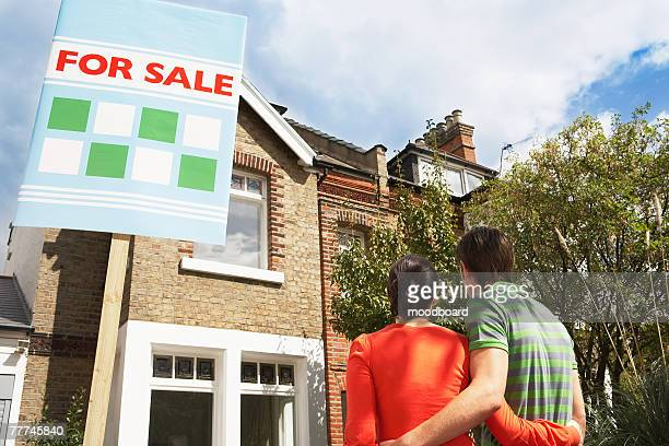 couple buying home together - consumerism stock pictures, royalty-free photos & images