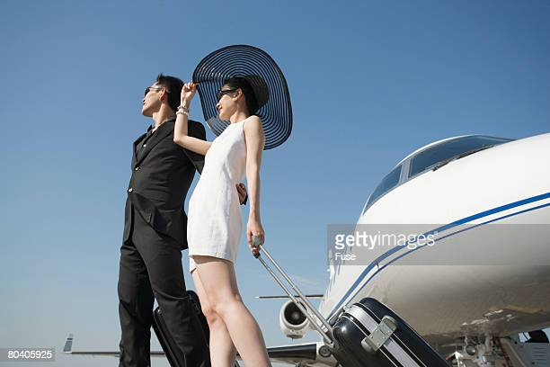 Couple by Airplane