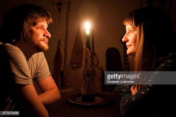 Couple by Candlelight.
