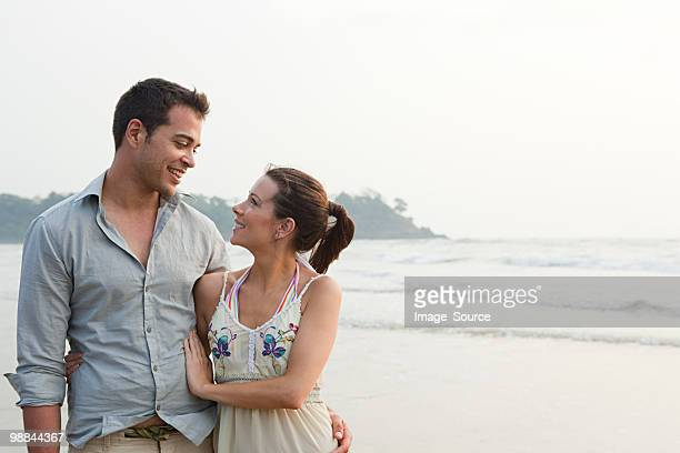 couple by the ocean - husband stock pictures, royalty-free photos & images