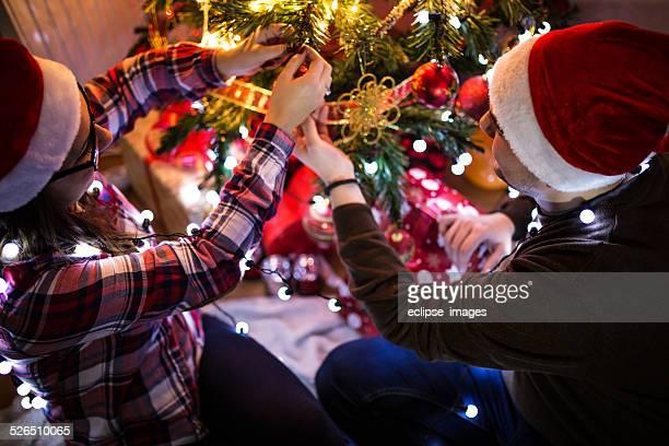 Paar Christmas-englische Redewendung